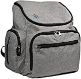 Backpack Equip trendy Diaper Bag Backpack-lightweight baby boy girl and toddler bags for travel or hiking-fits both men and women-stylish cloth with insulated pockets-changing pad and stroller straps