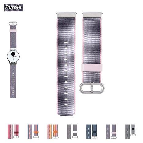 Bracelet de Montre pour Nokia Steel/Nokia Steel HR/Nokia WITHING Steel/Nokia