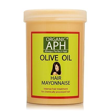 Orgánico APH Tratamiento De Mayonesa Del Pelo Con Aceite De Oliva Puro