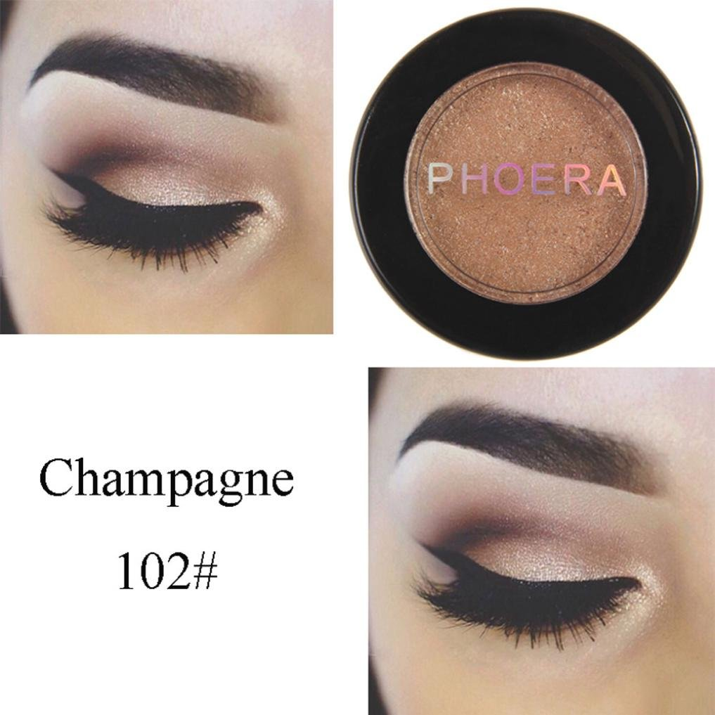 Amazon.com   Eyeshadow Big Promotion!ZYooh Pro Makeup Shimmer Color  Eyeshadow Metallic Eye Cosmetic (B)   Beauty 7068a0ad586d