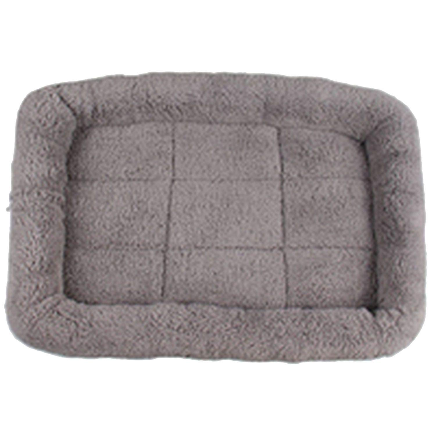 Grey Xl Grey Xl Pet Dog Beds Mat House Kennels Beds Cover Softy Dog House Pet Cat Bed for Large Dog Blanket Cushion,Grey,Xl