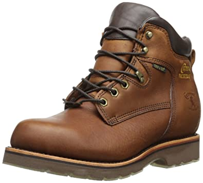 Chippewa Menu0027s 6 Inch Tan Rugged Boot,Brown,6 EE US