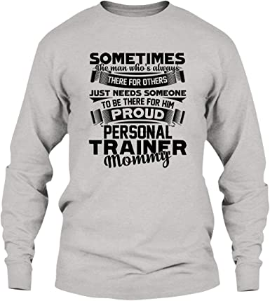 Personal Trainer Men Long Sleeves T-Shirt