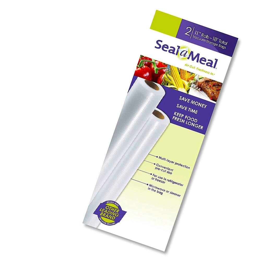 Amazon.com: Rollos de 11 in x 9 ft Seal-A-Meal, paquete de 2 ...