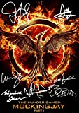 "The Hunger Games Movie Print Jennifer Lawrence Woody Harrelson Liam Hemsworth Elizabeth Banks Lenny Kravitz Josh Hutcherson Natalie Dormer (11.7"" X 8.3"")"