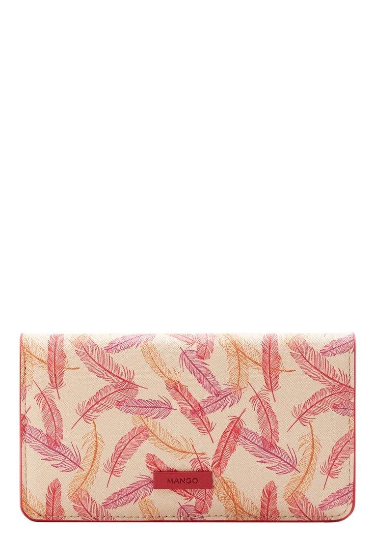 Mango Women's Printed Wallet, Ecru, One Size by MANGO