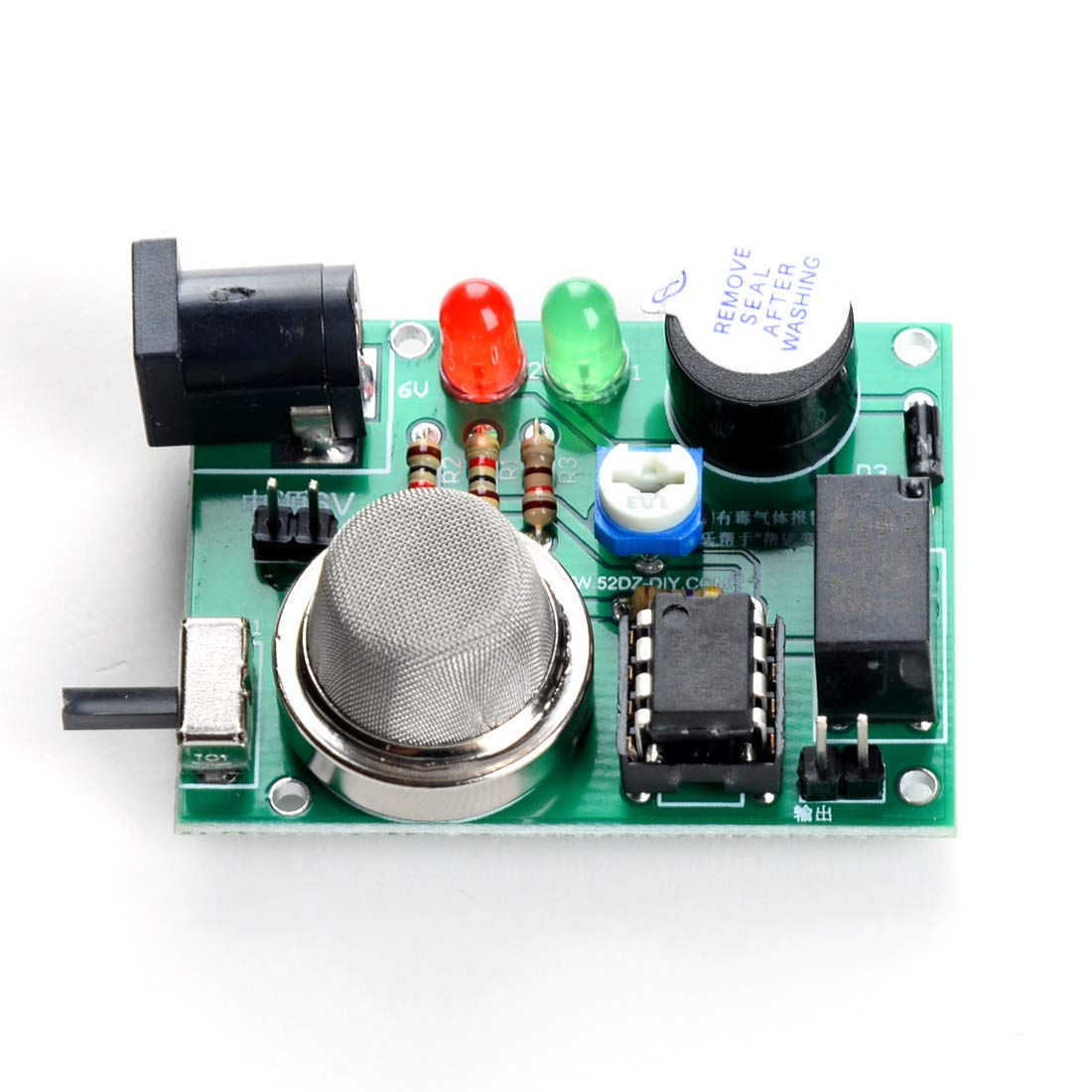 Amazon.com: DDIY Toxic Gas Detector Soldering Project Electronic Project Kit DIY Parts Beginners Learning Adjustable Welding Assemble: Toys & Games