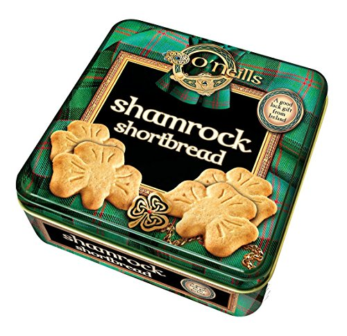 O'Neill's Shamrock Shaped Shortbread In A Tin ()