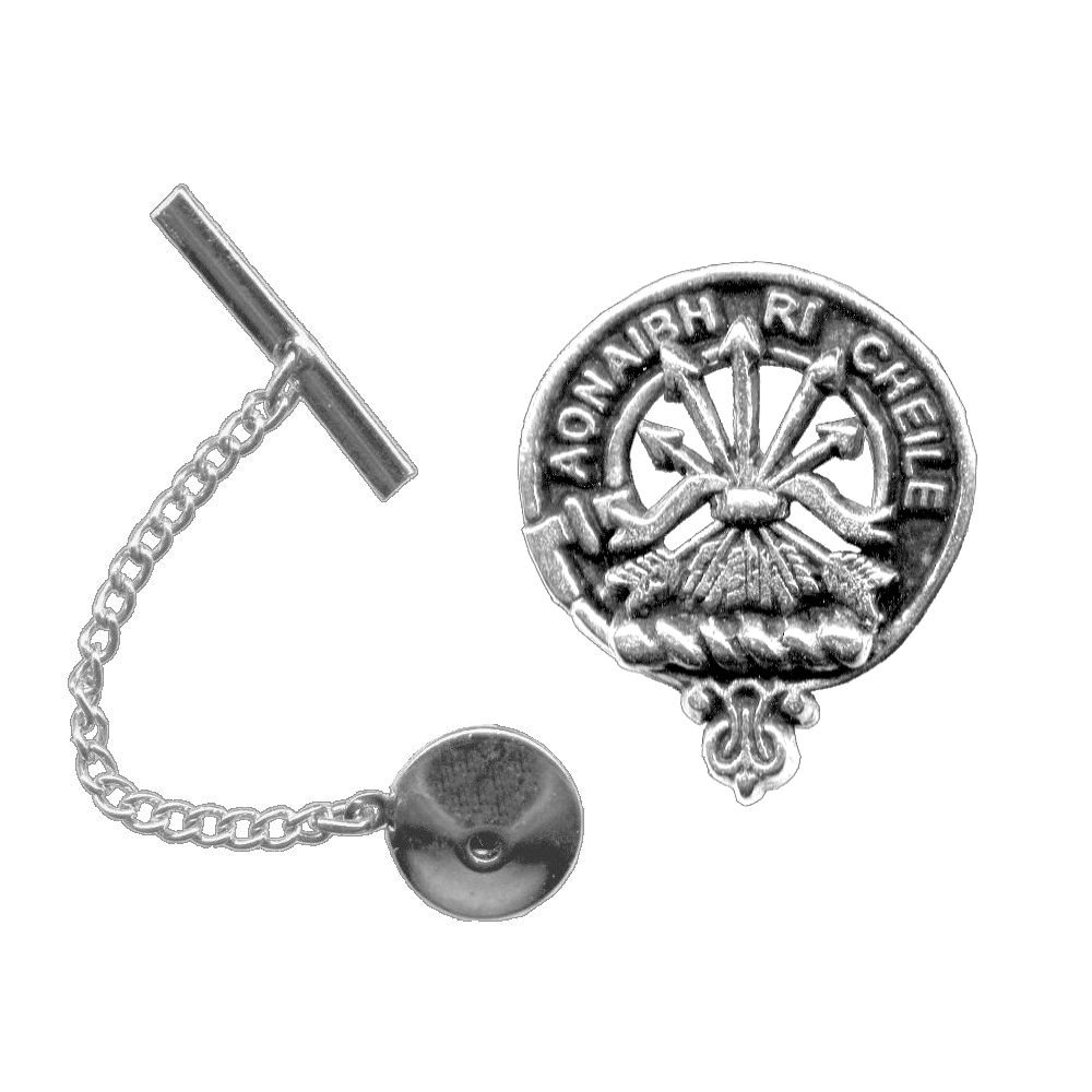 Cameron Scottish Clan Crest Tie Tack / Lapel Pin