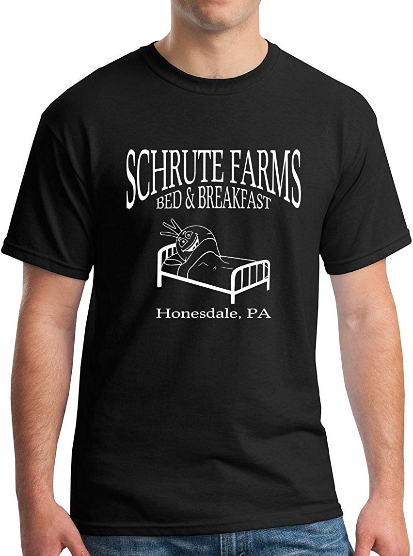 Schrute Farms Bed Breakfast Honesdale Pa Funny Design Dark Heather Shirts