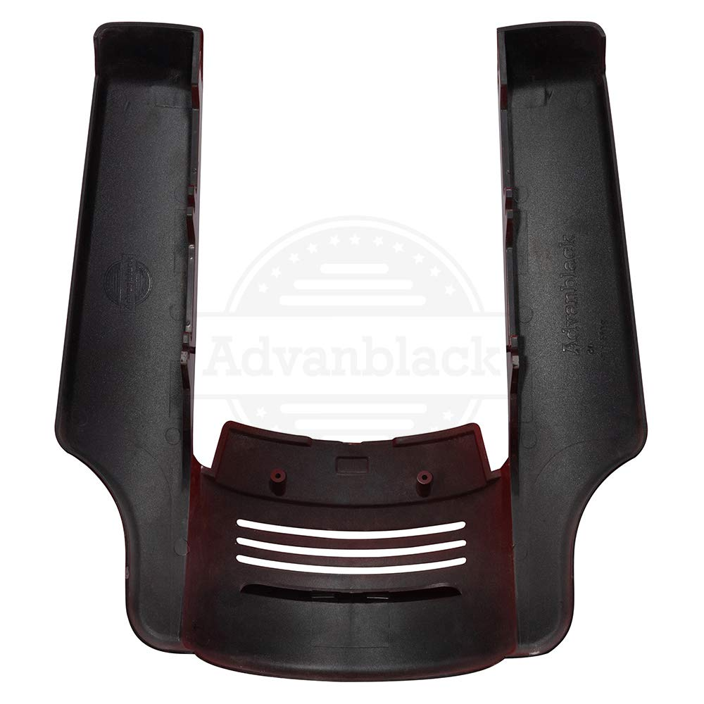 Us Stock Advanblack Denim//Matte Black 4.5 inch Stretched Rear Fender Extension Extended Extender Flare Filler Kit Fit for 2009-2013 Harley Touring Road King Street Glide Special