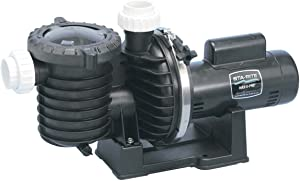 Pentair Sta-Rite P6E6F-207L Max-E-Pro Energy Efficient Single Speed Full Rated Pool and Spa, 1-1/2 HP Pump, 230-Volt