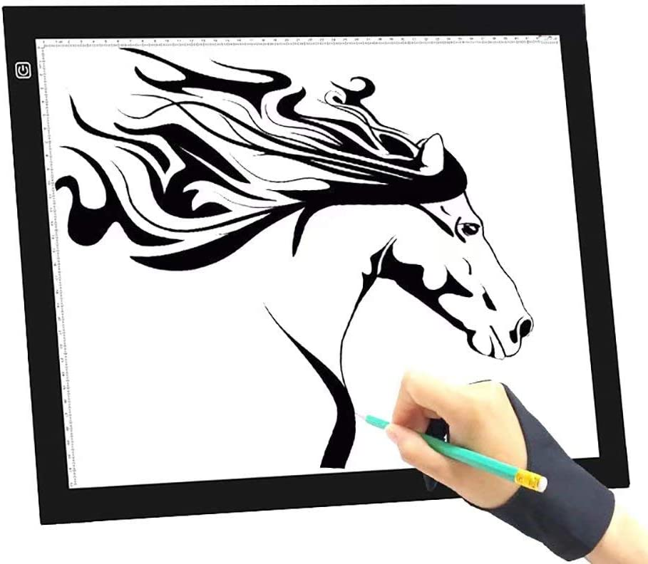 Grace Painter - Caja de luz LED para dibujar y dibujar (ultrafina ...
