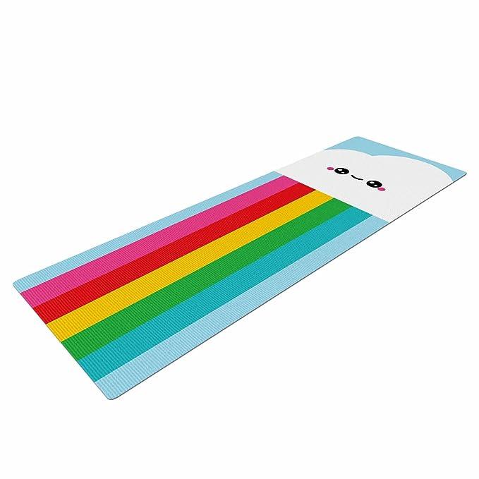 Amazon.com : Kess InHouse KESS Original Mr. Rainbow ...