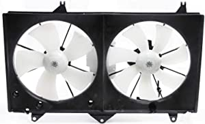 Radiator Fan Shroud Assembly Compatible with 2002-2006 Toyota Camry 4cyl