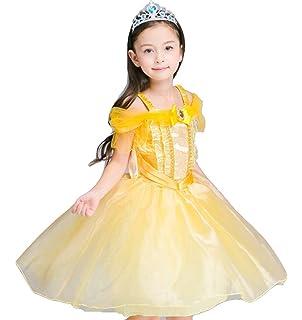 ca5171f3ef5ed meymuse (メイミューズ) なりきり プリンセス コスチューム 衣装 美女と野獣 ベル 風 子供 キッズ