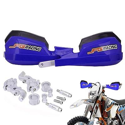 "Handguards Dirt Bike Hand Guards - Universal For 7/8"" And 1 1/8"" Handlebar - For Dirt Bike For Honda Yamaha Kawasaki Suzuki Motocross Enduro Supermoto(Blue): Automotive"