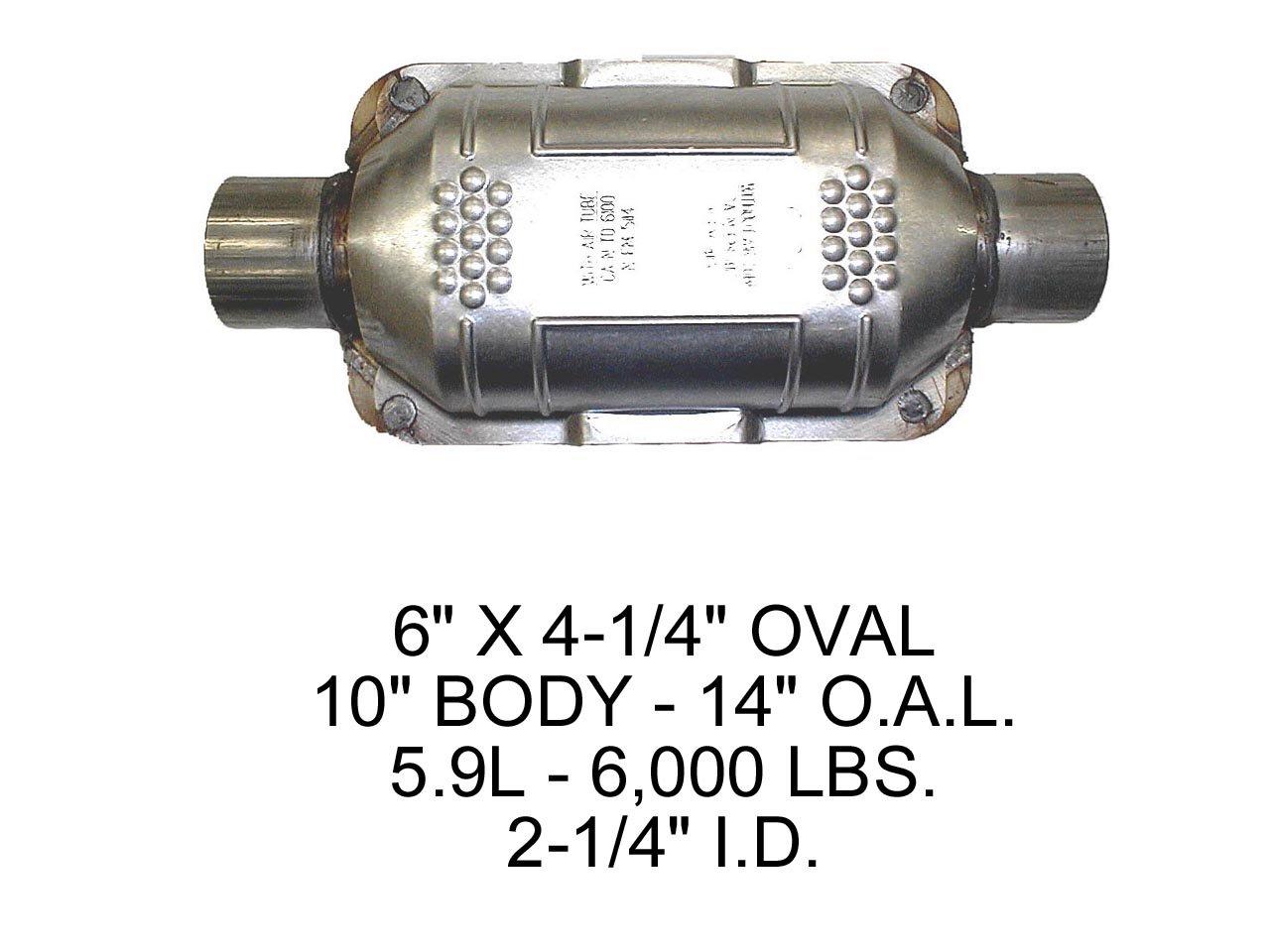 Eastern Catalytic Catalytic Converter 83165