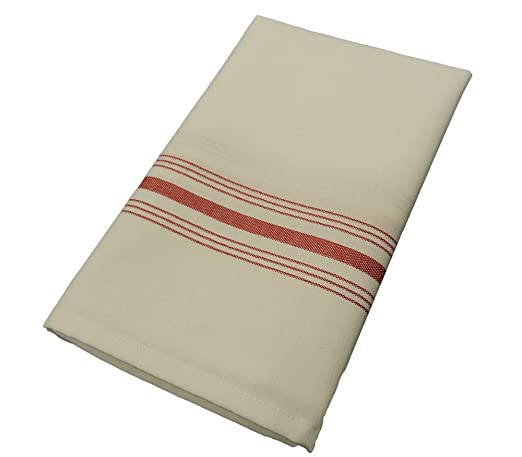 Milliken Signature Red Stripe Bistro Napkins Set of 12