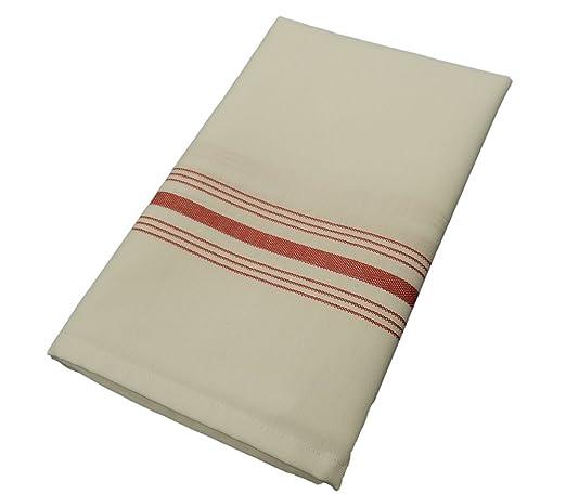 Milliken Signature Red Stripe Bistro Napkins Set of 12