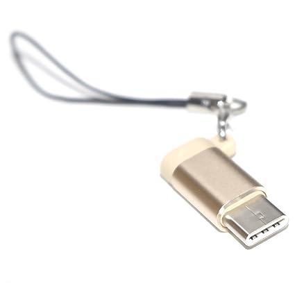 Adattatore da USB-C a Micro USB in Alluminio con convertitore Micro USB Keychain Type-C