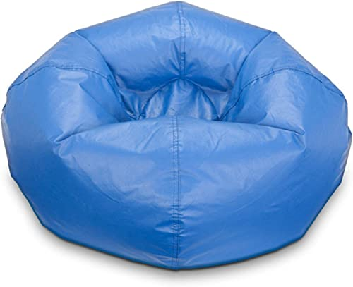 Ace Bayou Matte red vinyl Bean Bag, 98 , Multiple Colors Blue
