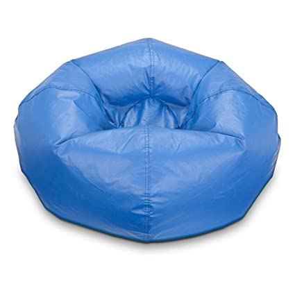 Remarkable Ace Bayou Matte Red Vinyl Bean Bag 98 Multiple Colors Blue Pdpeps Interior Chair Design Pdpepsorg