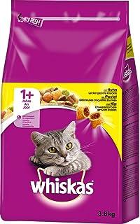 Whiskas - Comida Seca para Gato (3,8 kg)