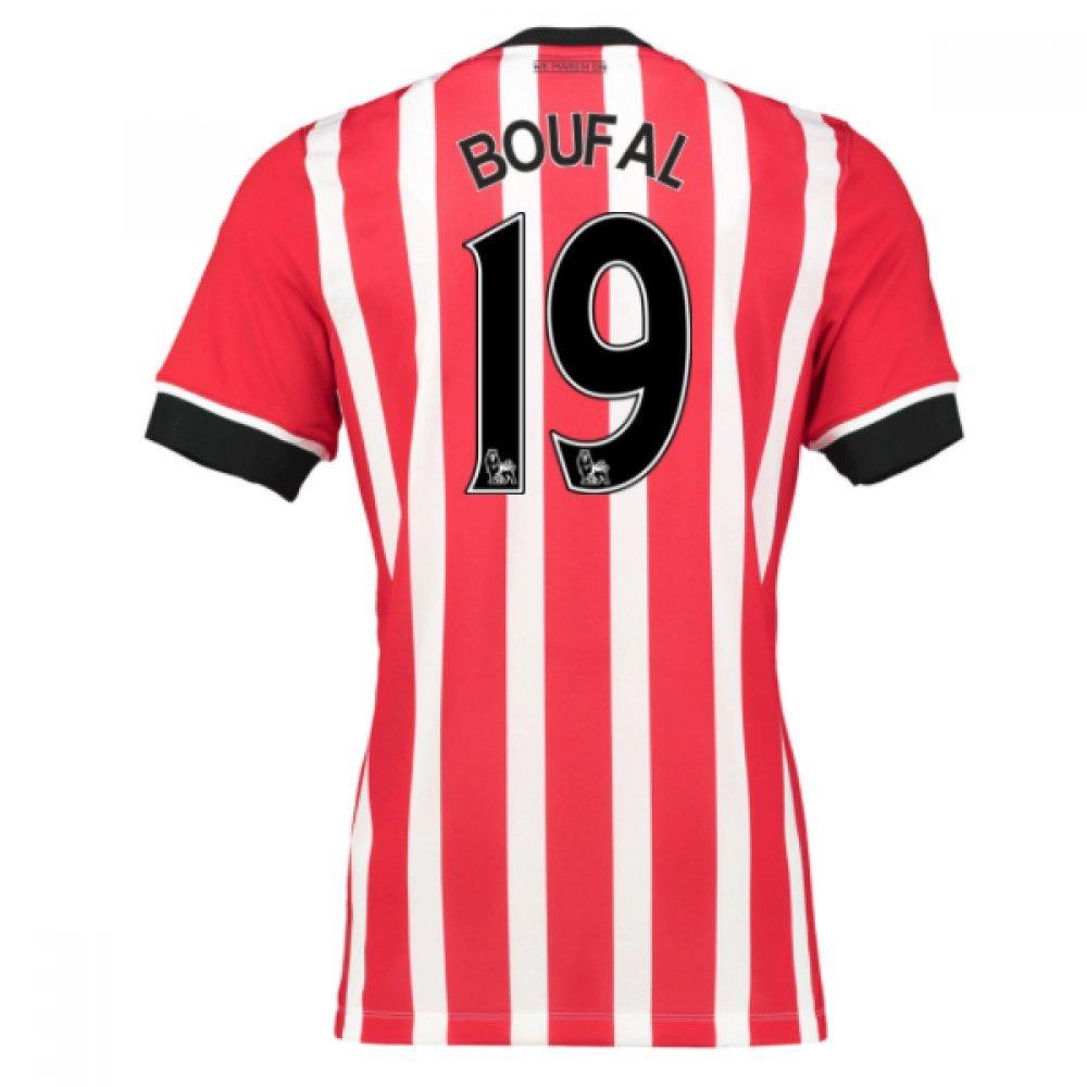 2016-17 Southampton Home Football Soccer T-Shirt Trikot (Sofiane Boufal 19)