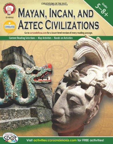 Mayan, Incan, and Aztec Civilizations, Grades 5 - 8 (World History ...