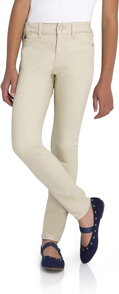 Amazon Com Jordache Pantalones Vaqueros Para Nina Ajuste Ajustado Y Regular Con Cintura Ajustable Piedra De Pergamino 6r 6s 8r 10s 14r 14s Clothing