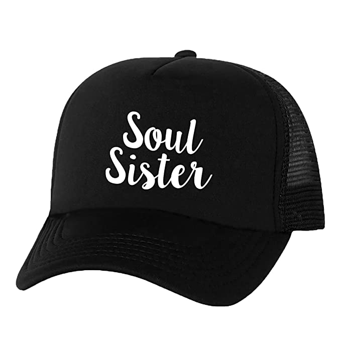 3a82652ba9c Soul Sister Truckers Mesh snapback hat in Black - One Size at Amazon ...