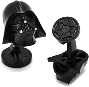 Mancuernillas Casco de Darth Vader Star Wars Negros En Estuche Star Wars - Cufflinks