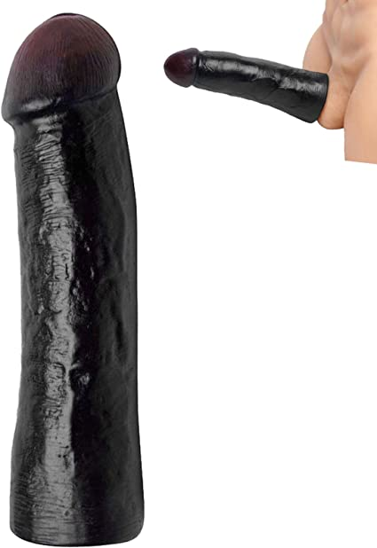 Amazon Com Uee Lebrawn Extra Large Black Penis Extender Extension