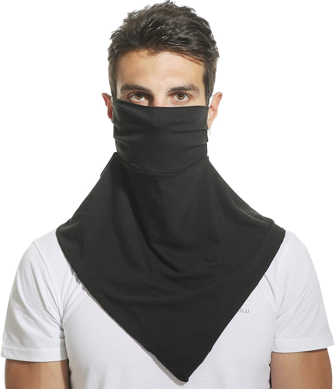 Lorpect Neck Gaiter Face Scarf Mask-Dust Outdoors Balaclavas Cloth Sports Sun Protection Scarf