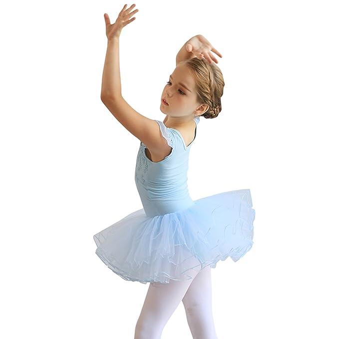 OBEEII Vestido Maillot de Ballet Danza Leotardo Traje de ...