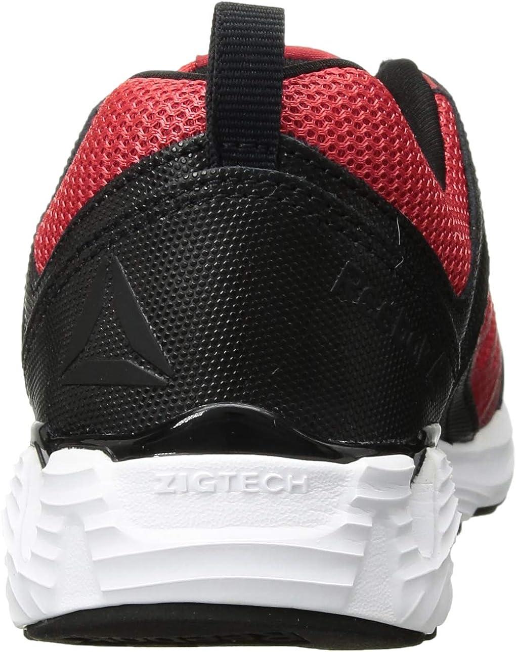 NEW IN BOX Reebok Kids/' Zigkick 2k18 Cross Trainer Size 6.5 Red//Black//white