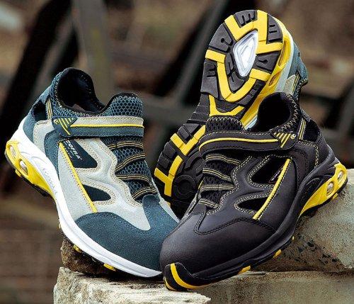 """Cofra PJ014–000.w40Talla 40s1P """"Air grandes zapatos de seguridad, color beige/gris"""