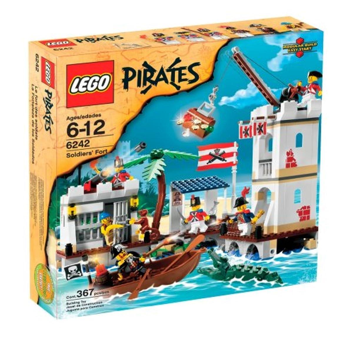 [해외] LEGO (레고) PIRATES SOLDIERS' FORT (6242) 블럭 장난감 (병행수입)
