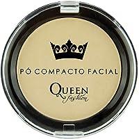 Pó Facial Compacto, Queen Fashion