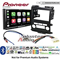Volunteer Audio Pioneer AVH-W4400NEX Double Din Radio Install Kit with Wireless Apple CarPlay, Android Auto, Bluetooth Fits 2009-2012 Nissan Frontier, Xterra