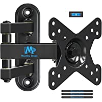 Mounting Dream Full Motion TV Monitor Wall Mount Bracket for 10-26 Inch LED, LCD Flat Screen TV and Monitors, Mount with…