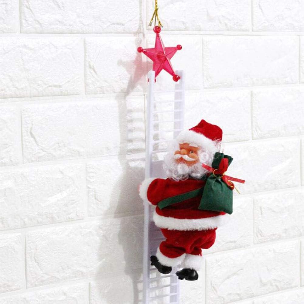 Poupée Led Lampe Brillent Ornement Décor Noël Arbre Sapin Maison Enfant Cadeau