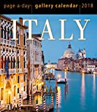 Italy Page-A-Day Gallery Calendar 2018