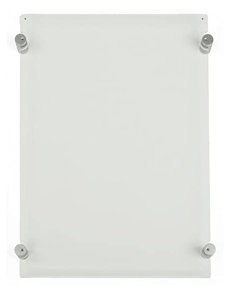 Amazon.com : Displays2go Clear Acrylic Wall Mounted Sign Frame, 12-7 ...