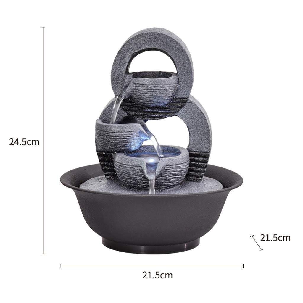 Home & Kitchen Tabletop Fountains ghdonat.com Color : A Desktop ...