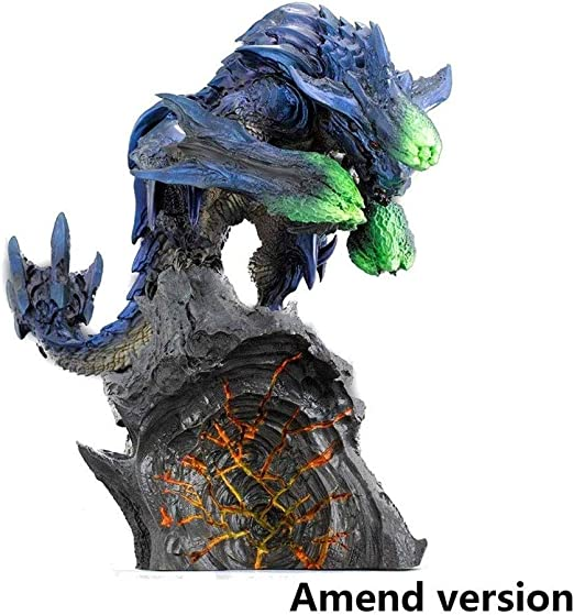 Amazon Com Bayueshop Game Character Model Anime Sculpture Monster Hunter World Bracchidios Pvc Figure High 6 69 Inche Anime Model Home Kitchen