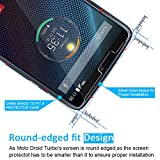 [3 Pack] iVoler [Tempered Glass] Screen Protector for Motorola Droid Turbo (Verizon), [0.2mm Ultra Thin 9H Hardness 2.5D Round Edge] with Lifetime Replacement Warranty