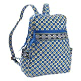 Vera Bradley Backpack Bag in Riviera Blue