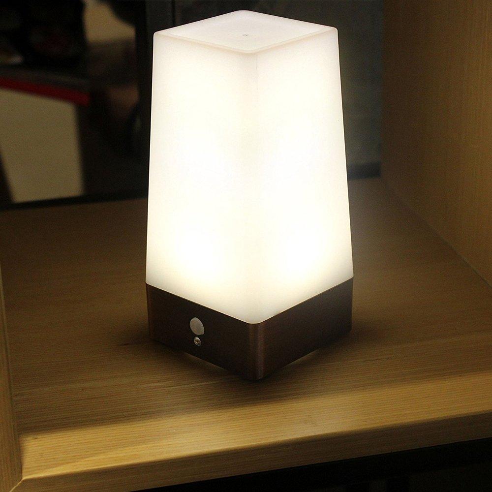 Lixada人体誘導ライトモーションセンサー小型コードレスLEDテーブルランプ夜間ライトベッドルーム装飾照明 ASO2573881565087IZ B07BP7MTFL  Size 2